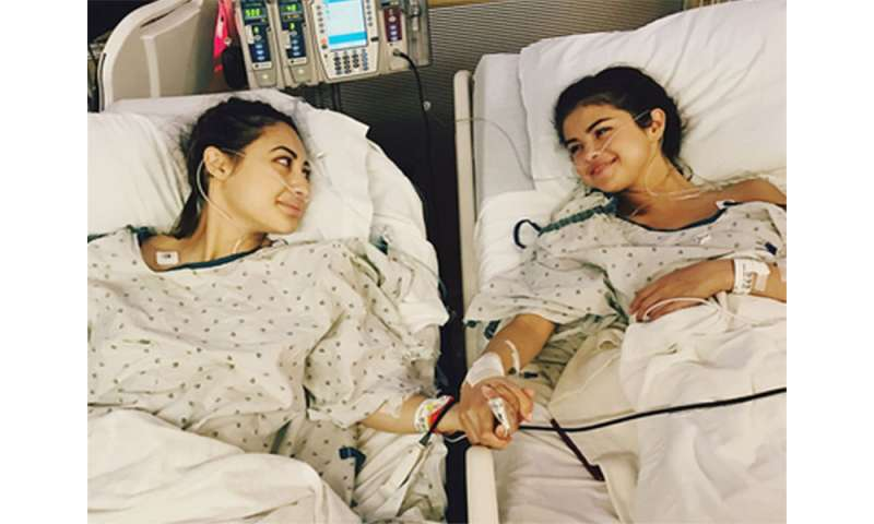Selena gomez's kidney transplant puts lupus center stage