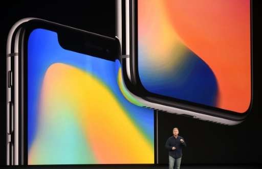 Senior Vice President of Worldwide Marketing at Apple Philip Schiller speaks about the iPhone X during a media event at Apple's