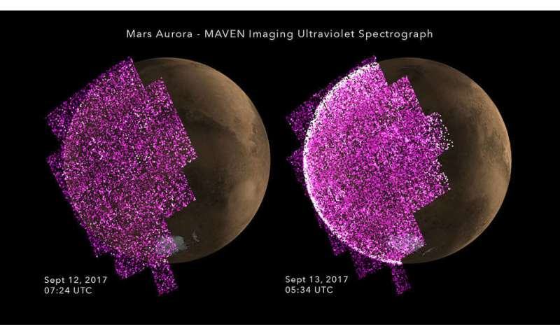 September 2017's intense solar activity viewed from space