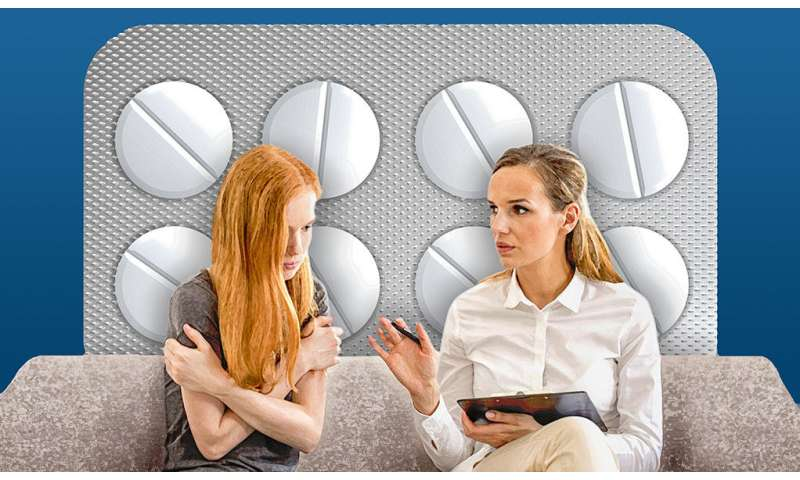 Severe anxiety best treated with drugs and therapy