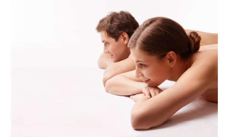 Sexual satisfaction—treating a woman with oxytocin also benefits her male partner