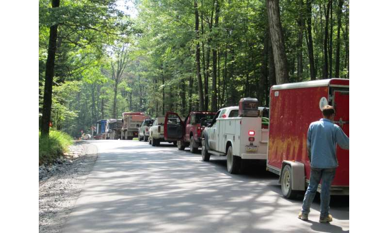 Shale gas threat to forests can be eased by consolidating infrastructure