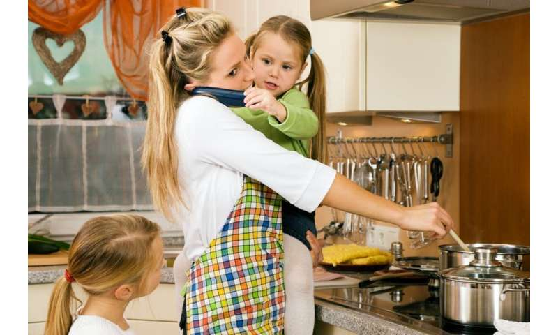 Sharing the parenting duties could be key to marital bliss, study suggests