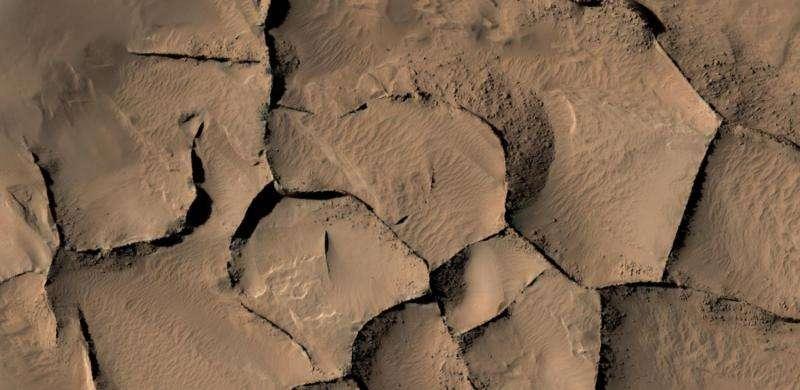 Similar-looking ridges on Mars have diverse origins