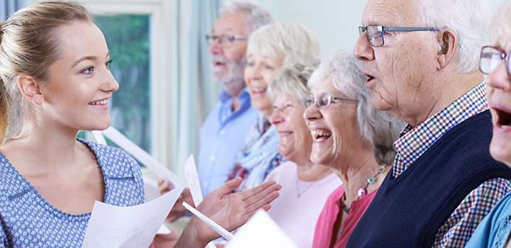 Singing in groups could make you happier