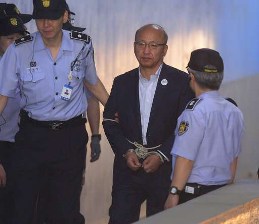 S. Korea's ex-health minister guilty of swaying Samsung vote
