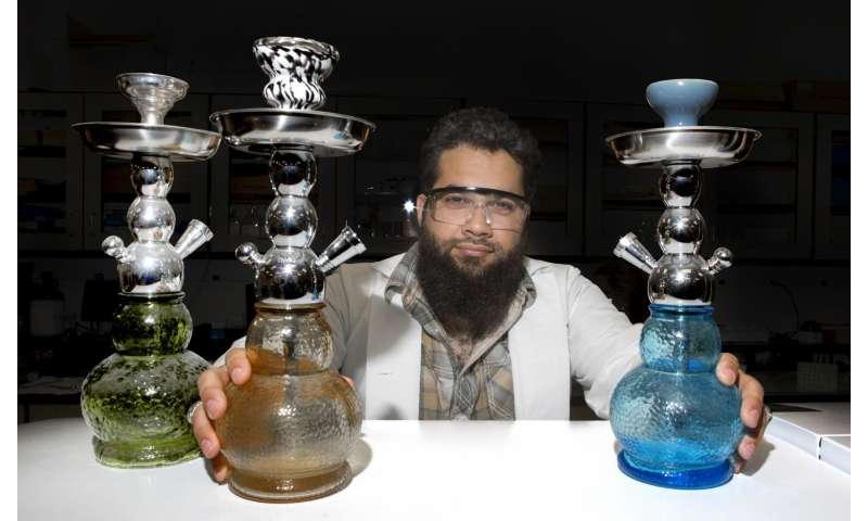 Chemists find that hookah tobacco heated electronically