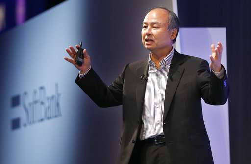 SoftBank CEO sees massive data, AI as key to future advances