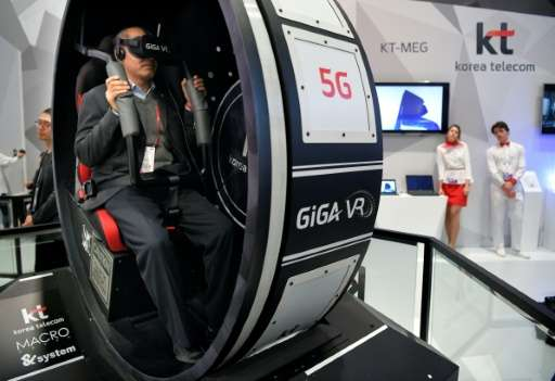 South Korean telecom company KT Mobile says it will offer visitors to the Pyeongchang Winter Olympics their first 5G experience
