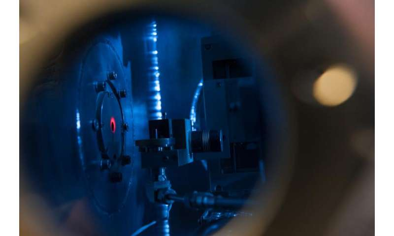 Space radiation reproduced in the lab for better, safer missions