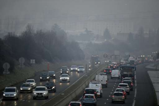 Speed limits have been reduced in many parts of France to combat heavy pollution