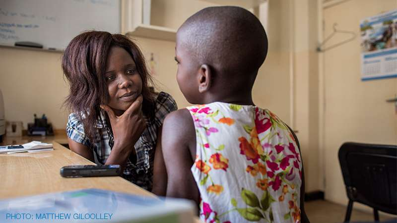 Study explores how to tell children they have HIV