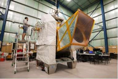 Studying interstellar dust from a balloon