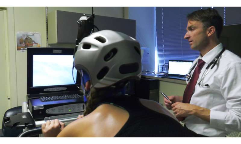 Study: New exercises help athletes manage dangerous breathing disorder