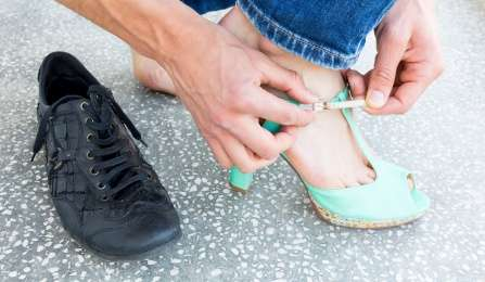 Study shows 'walking a mile in their shoes' may be hazardous to your health