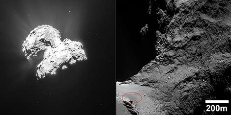 Surprising dunes on comet Chury
