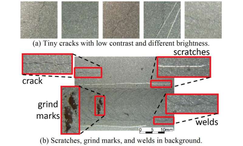 System automatically detects cracks in nuclear power plants