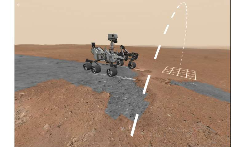Take a walk on Mars—in your own living room