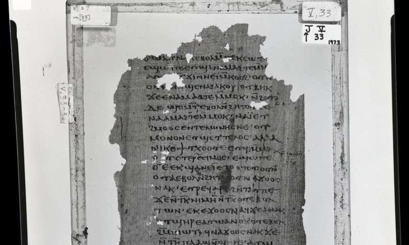 T Austin professors discover copy of Jesus' secret revelations to his brother