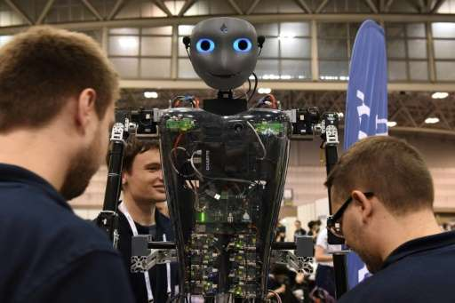 Technologies have since advanced so that robots can make autonomous judgements and cooperate with others