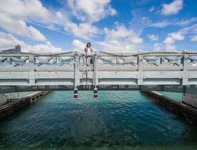 Testing bridges for safety after major hurricanes like Irma