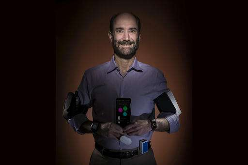 Testing wearable sensors as 'check engine' light for health