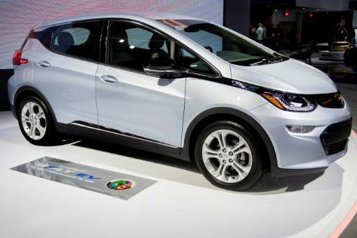 The all-electric Chevrolet Bolt EV, with a range of 238 miles (380 kilometers) on a charge, comes in under $30,000—after a feder