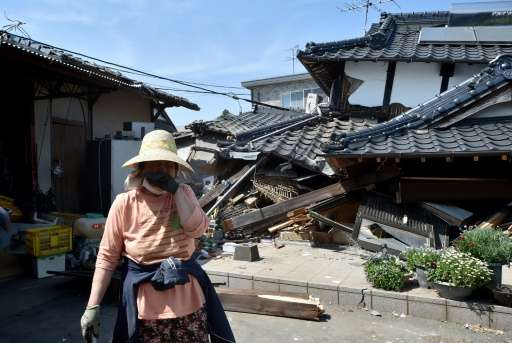 The April earthquakes on the Japanese island of Kyushu were the most devastating natural events of 2016, inflicting costs of $31