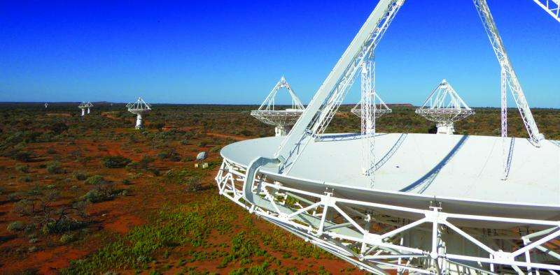 The Australian Square Kilometre Array Pathfinder finally hits the big-data highway