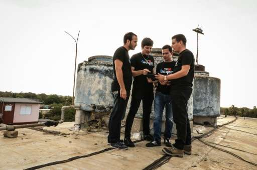 The four creators of the Gaspar Social network in Cuba hope that it will lead the rest of the communist island to greater connec