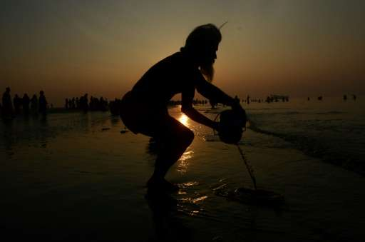 The Ganges is India's longest and holiest river, but the waters in which pilgrims ritualistically bathe and scatter the ashes of