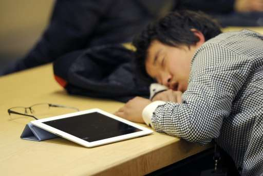 The human brain can learn only in certain phases of shut-eye