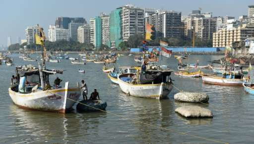 The Indian metropolis of Mumbai is among many major cities across the globe threatened by rising sea levels which will see coast
