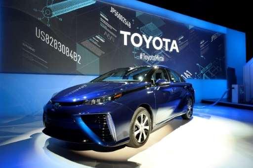 The Mirai was Toyota's first mass-market hydrogen fuel-cell car