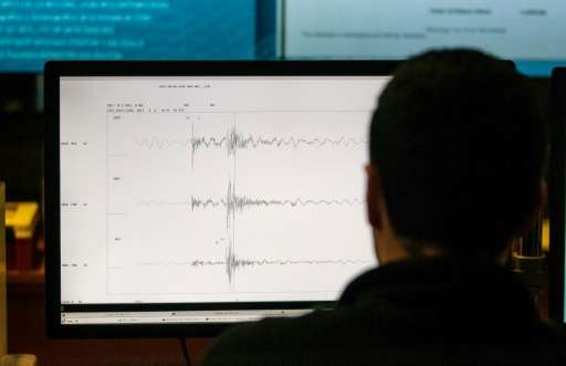 The National Seismological Center (CSN) of the University of Chile is in charge of monitoring seismic activity in Chile