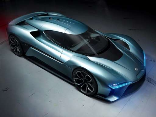 The NIO EVE autonomous vision car of the future is likely to compete in the premium segment with vehicles from Tesla in the auto