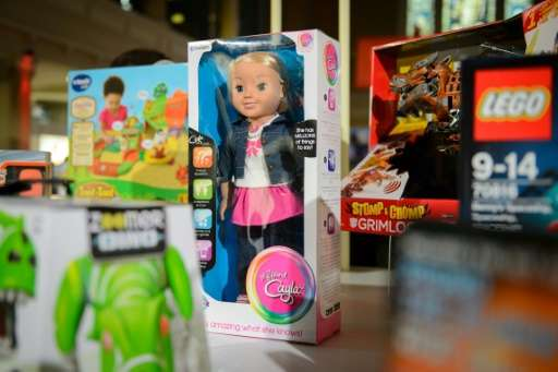 """The now banned talking doll, """"My Friend Cayla"""", worried German surveillance agencies as it can record and transmit any"""
