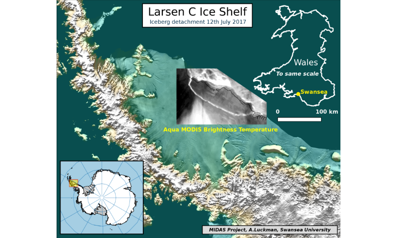 The one trillion tonne iceberg -