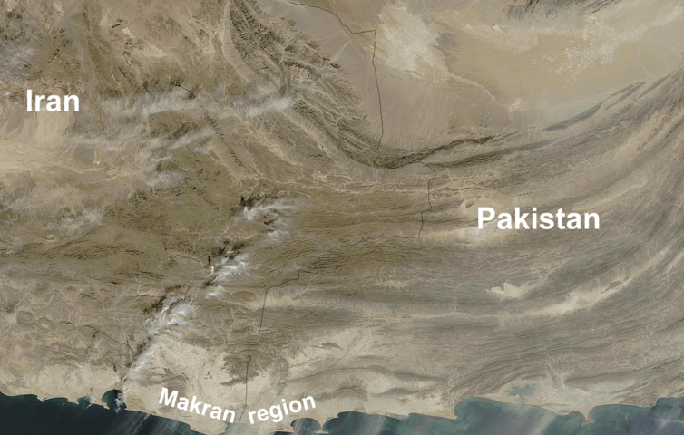 The rapidly populating coastal region from the Gulf to Pakistan faces a huge tsunami risk