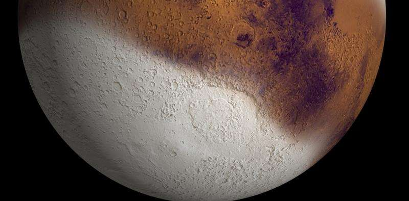 There could be snow on Mars – here's how that's possible