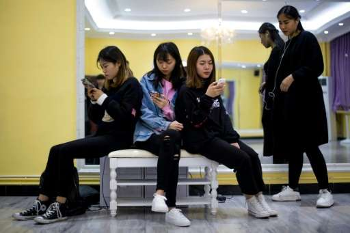 There is growing concern in China that long periods online is posing a serious threat to the country's youth