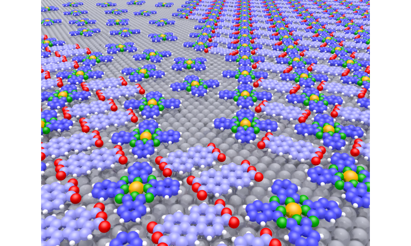 The repulsion trick: A self-solving puzzle for organic molecules