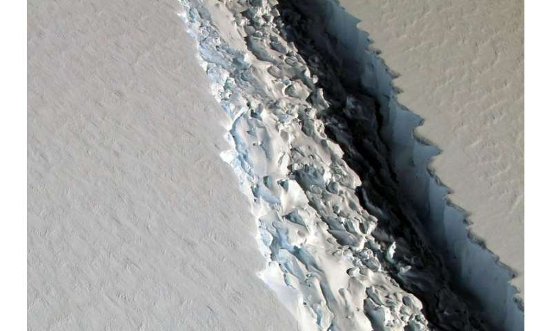 There's a giant crack in an Antarctic ice shelf. Should we be worried?