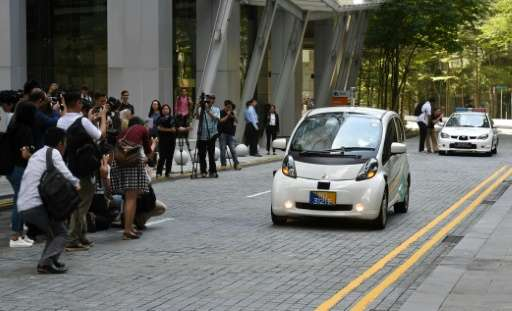 The small nuTonomy self-driving cars on Singapore's streets are soon to joined by larger Peugeot 3008 SUVs.