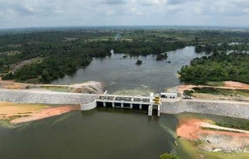 The Soubre dam is to boost Ivory Coast's power capacity while helping it reach emissions goals