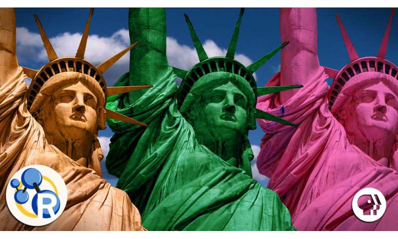 The Statue of Liberty's true colors (video)