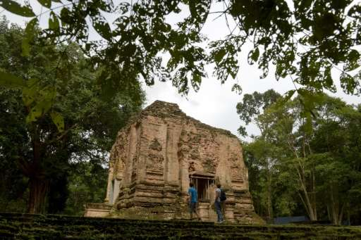 The temples of Sambor Prei Kuk  were rediscovered by French scholars in the 1880s and it took decades to pare back tree roots an
