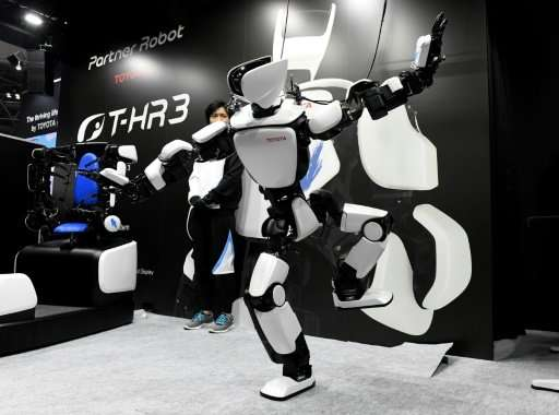 The T-HR3 is the latest in dozens of humanoid models that have been developed recently thanks to rapid technological advances, e