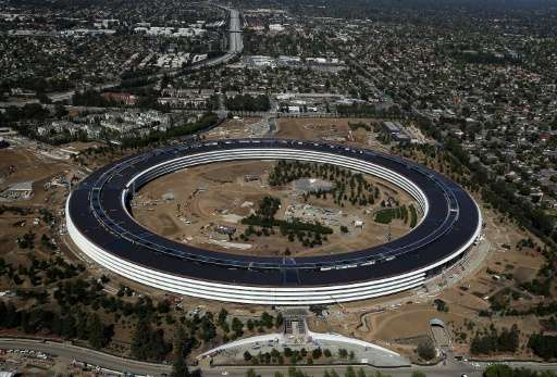 "The upcoming iPhone event will be the first public event at Apple's new ""spaceship"" campus at its home in Cupertino, C"