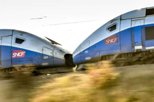 The world-famous French TGV would be part of an Alstom-Siemens merger
